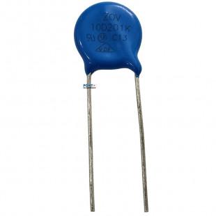 Varistor S10K130V = 10D201K Kit 30pçs