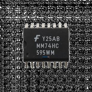 Circuito Integrado SN74HC595WM SMD = MM74HC595WM SOP-16