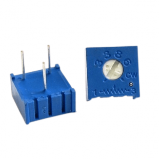 Trimpot 100R 3386F 1 Volta 3386F-1-101 Kit 10pçs