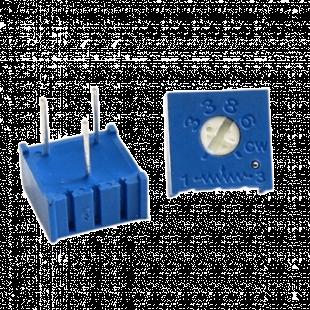 Trimpot 10R 3386F 1 Volta 3386F-1-100 Kit 10pçs