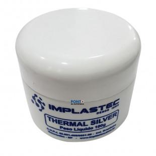Pasta Térmica Com Prata Thermal Silver 100G Implastec